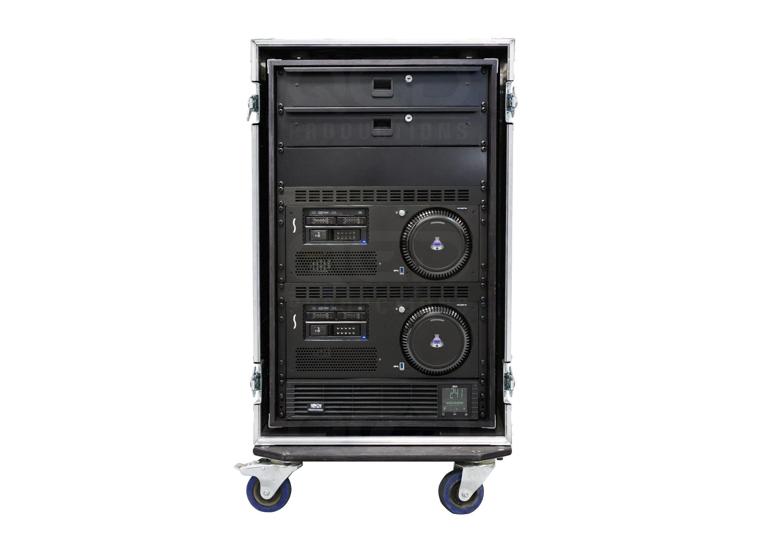 QED Productions   Equipment   QLab media server